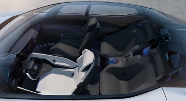 雷克萨斯全新电动概念车发布 上海车展亮相/百公里加速仅3秒