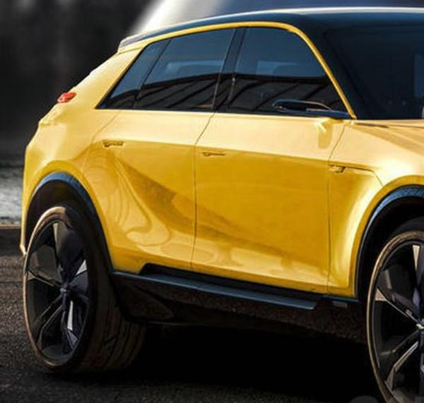 雪佛兰科尔维特SUV渲染图曝光 定位高性能纯电SUV