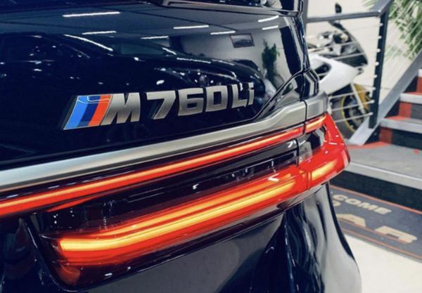宝马M760Li进店实拍图曝光 预计今年底正式亮相