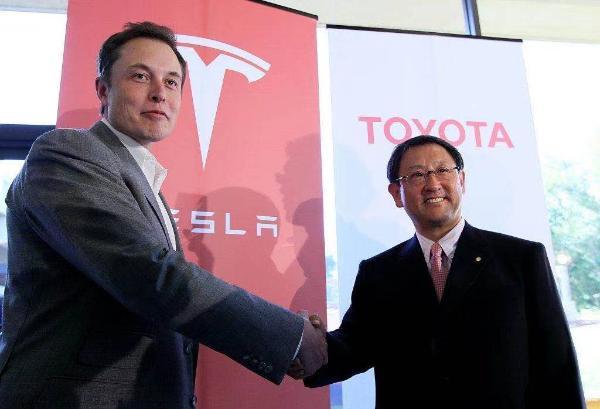 通过特斯拉丰田联合开发小型SUV平台