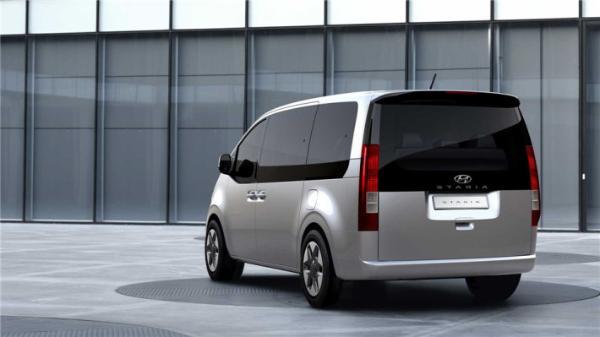 现代新车STARIA官图曝光,外观科幻,或将搭3.5L V6自吸发动机