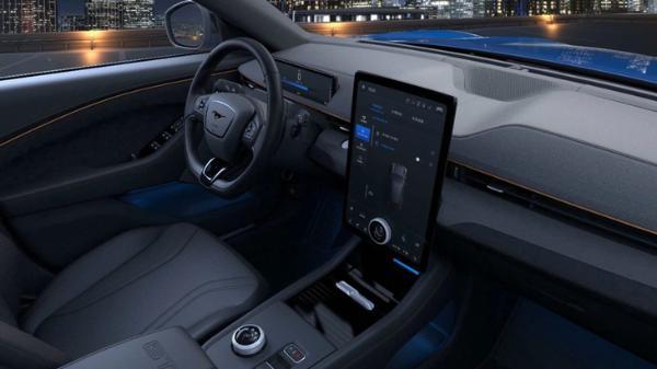 溜背式造型设计 Mustang Mach-E将于4月13日正式上市