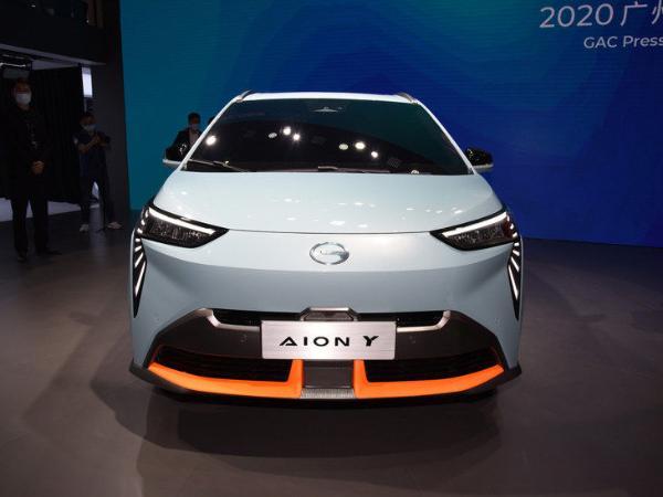 广汽埃安Aion Y将3月29日开启预售 配隐藏式车门把手 定位紧凑级纯电SUV