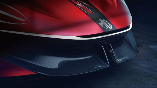 汽车与电竞的深度合作 上汽MG电超跑电竞座舱正式发布