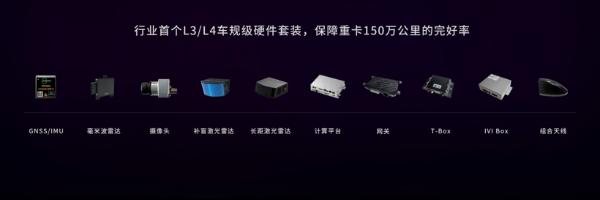 """嬴彻科技发布""""轩辕""""系统,年底携东风、重汽量产交付L3重卡"""