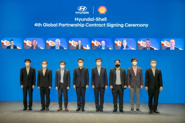 """现代汽车与壳牌签署全新合作协议 持续践行""""2025战略"""""""
