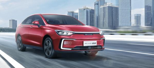 北京品牌将在未来3年推出6款新车EU5 并在今年年中进行重新设计