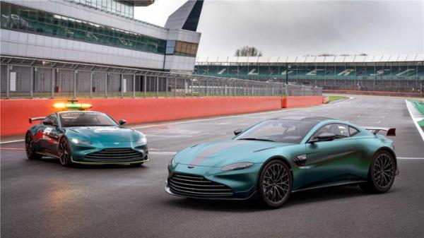 阿斯顿马丁将推出轮胎尺寸更大的F1安全车特别版