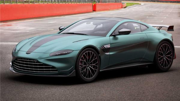 阿斯顿·马丁将推F1安全车特别版,轮胎尺寸更大