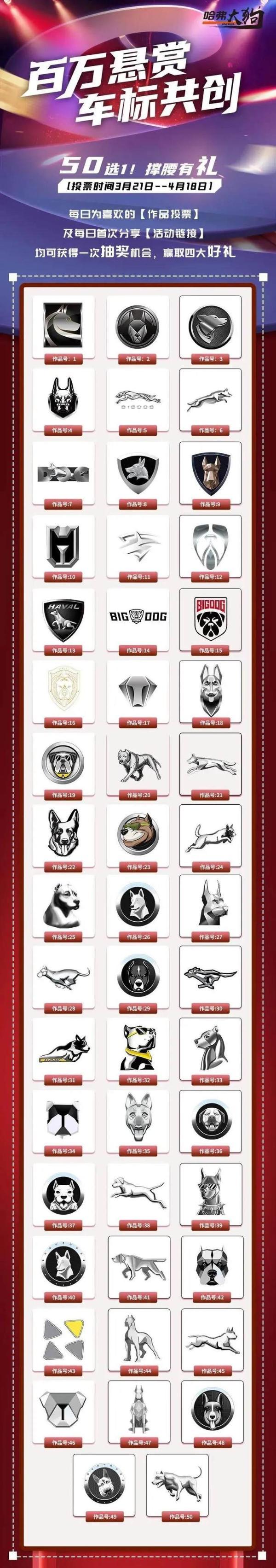 哈弗大狗将更换品牌标识 有望上海车展期间公布新LOGO