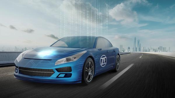 采埃孚在2021上海车展上以全球首发产品,赋能软件定义汽车