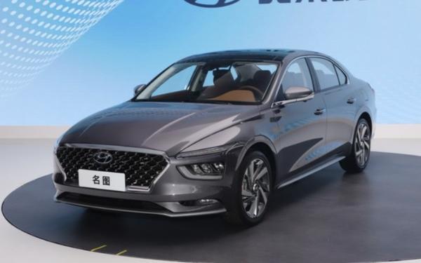 北京现代全新名图今日上市 燃油版/纯电版车型同步推出