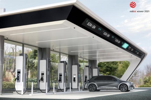 现代建立电动汽车充电站品牌电子坑