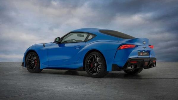 丰田GR Supra推出赛道特别版 蓝色车漆/专属身份标识