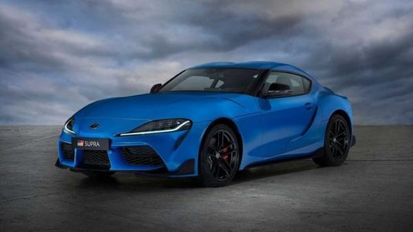 丰田GR Supra推出赛道特别版蓝漆/独家标识