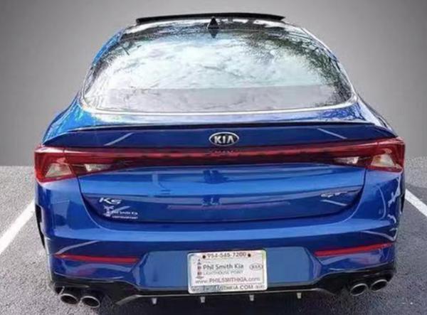 全新起亚K5 GT车型实拍图曝光 搭2.5T+四驱