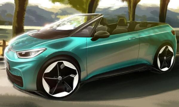 大众考虑推出基于ID.3的敞篷电动汽车