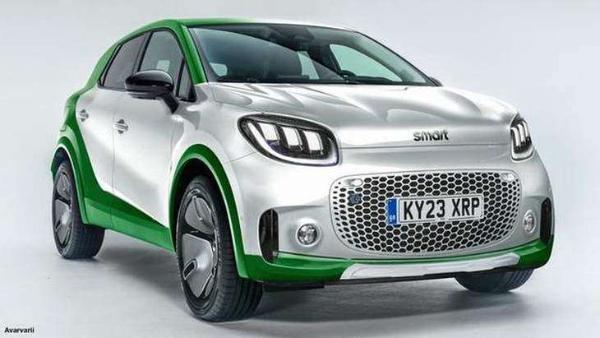 Smart首款纯电SUV 9月亮相慕尼黑 2022年投放市场