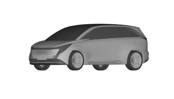 恒驰4设计专利地图曝光定位豪华MPV/科技感