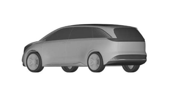 恒驰4设计专利图曝光 定位豪华MPV/科技感十足