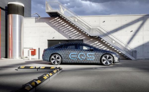 奔驰EQS动力信息发布最大寿命770公里/上海车展亮相