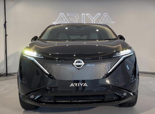 全新日产Ariya实拍图曝光 有望年底在国内上市