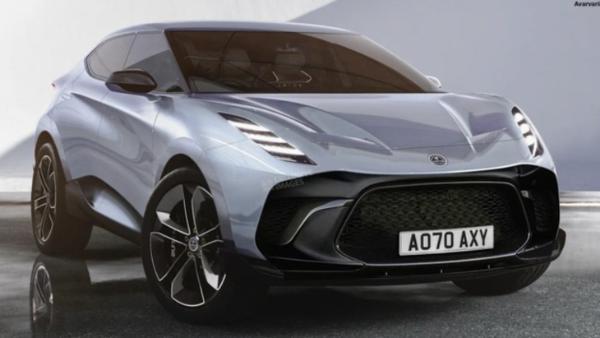 路特斯Lambda SUV最新渲染图曝光 有望明年正式亮相