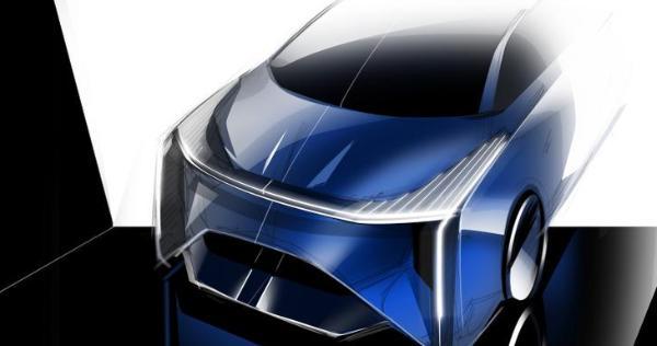 将上海车展首发 定位智能化MPV MAXUS MIFA EV概念车手稿曝光