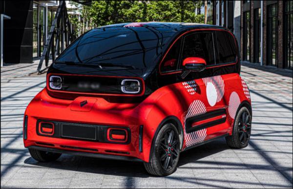 2021上海车展:新款新宝骏E300实车曝光
