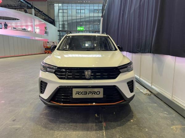 2021上海车展:荣威RX3 PRO是第一个看到真车的
