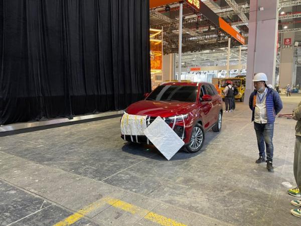 2021上海车展:长安欧尚X7 PLUS实车曝光