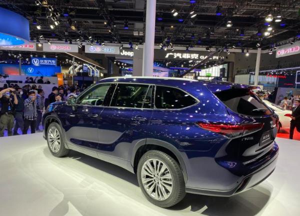 广汽丰田全新汉兰达消息 将9月正式上市
