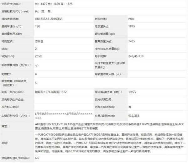 奔腾T55S将于4月27日发布 搭载1.5T发动机