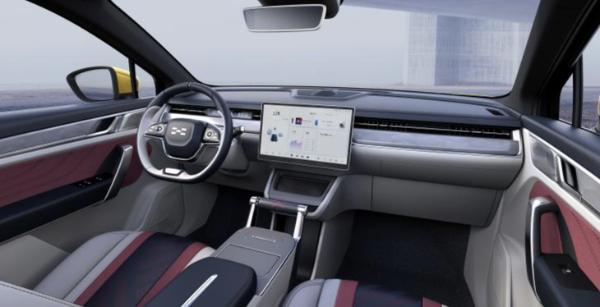 定位纯电轿跑SUV/年内上市 爱驰U6量产版官图
