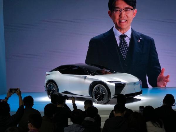 2021上海车展:雷克萨斯LF-Z电动概念车亮相