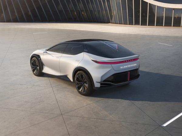 2021上海车展:雷克萨斯LF-Z Eletrified概念车首发亮相