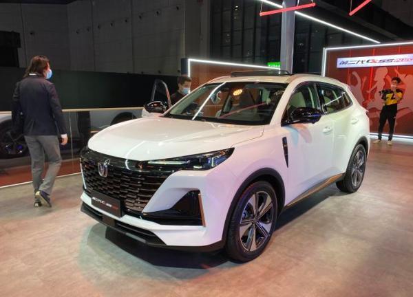 2021上海车展:第二代长安CS55 PLUS正式发布