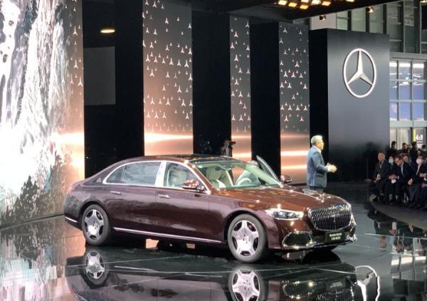 2021上海车展:全新迈巴赫S480售146.8万元