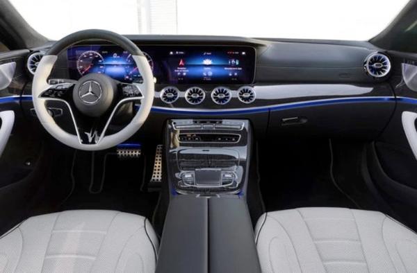 从内到外全面升级 奔驰CLS四门轿跑车全球首发