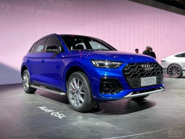 2021上海车展:中期改款Q5L亮相 整体设计更运动感