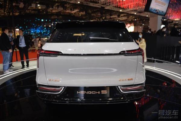 """#2021上海车展#恒驰共亮相9款新车,""""壕""""无人性"""
