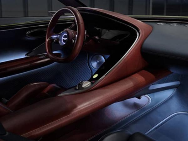 捷尼赛思X Concept官图发布,造型颇有美系肌肉车的味道