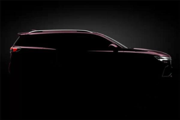 轴距接近中大型SUV,全新别克昂科威Plus预告图发布