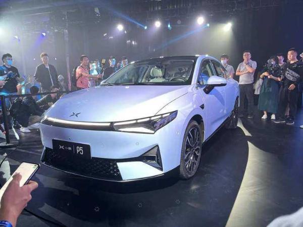2021上海车展:全新小鹏P5正式开启预售