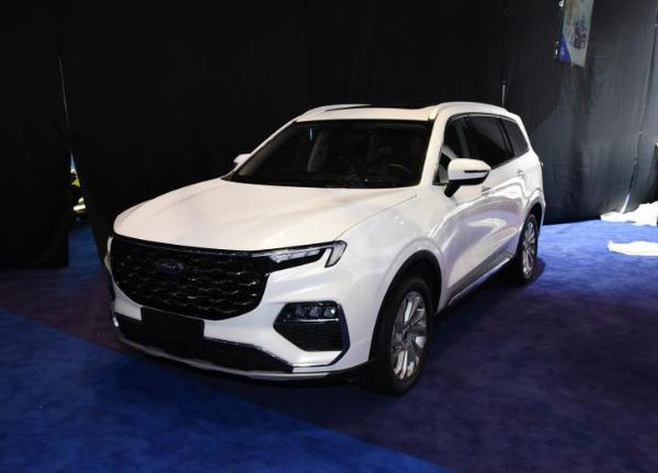 2021上海车展:江铃福特领裕新车型正式上市