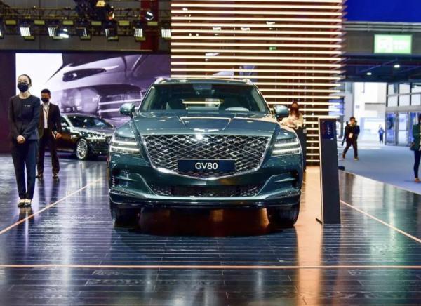 2021上海车展:捷尼赛思G80/GV80正式开启预售