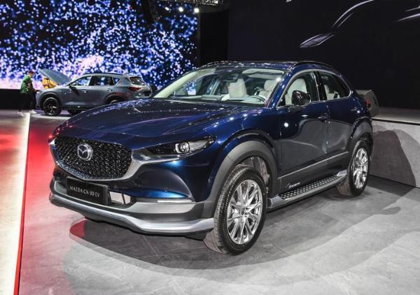 马自达首款新能源车 CX-30 EV将于年内上市