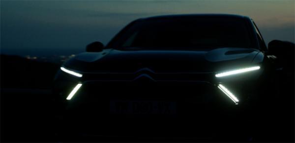 雪铁龙全新车型预告图发布