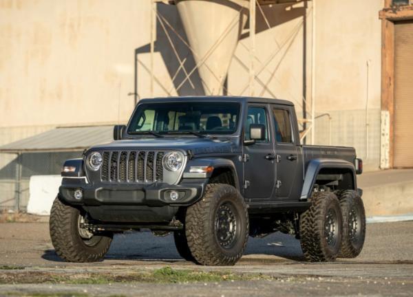太硬派了 NEXT LEVEL Jeep Gladiator 6×6官图