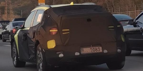 有望2021年内发布 捷尼赛思GV60电动车最新谍照曝光